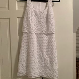 Lilly Pulitzer white dress small